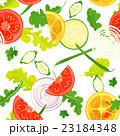 パターン・野菜 23184348