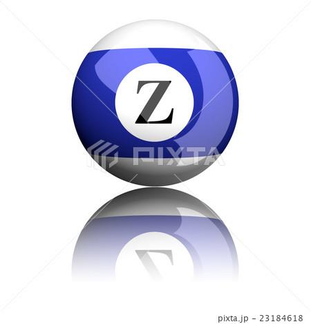 Alphabet Letter Z Sphere 3D Renderingのイラスト素材 [23184618] - PIXTA