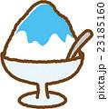 かき氷 スイーツ お菓子のイラスト 23185160