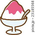 かき氷 スイーツ お菓子のイラスト 23185568