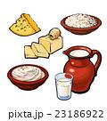 ミルク 牛乳 商品のイラスト 23186922