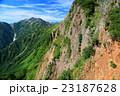 後立山連峰・鳴沢岳付近からの針ノ木岳 23187628