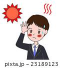 熱中症 猛暑 病気のイラスト 23189123
