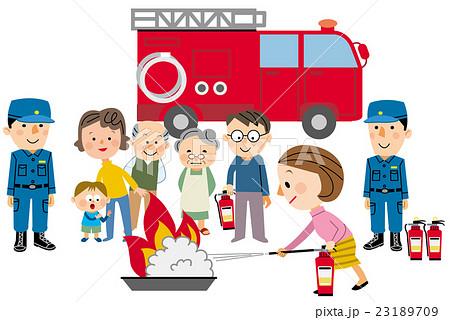 消防訓練 23189709