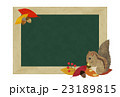 リスと黒板 23189815