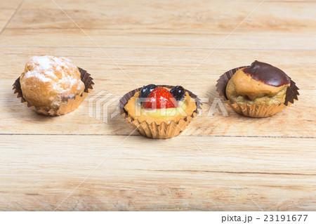 Italian pastry close-upの写真素材 [23191677] - PIXTA
