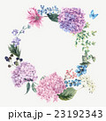 Floral Greeting Card with Blooming Hydrangea and 23192343