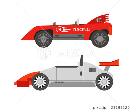 Retro sport car vector. 23195129