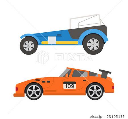 Retro sport car vector. 23195135