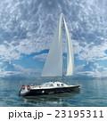 ヨット 23195311