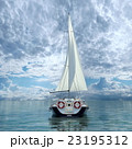 ヨット 23195312