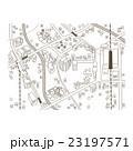 町並み マップ 建物のイラスト 23197571