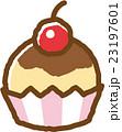 カップケーキ スイーツ おやつのイラスト 23197601