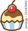 カップケーキ スイーツ おやつのイラスト 23197602