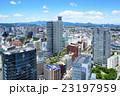 仙台市 ビル群 市街の写真 23197959