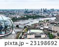 ロンドン・アイから眺めるロンドン市内 23198692