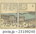 江戸時代の大阪「戎橋」(「浪華...