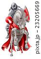騎士 ベクトル 白馬のイラスト 23205669