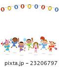 子供たちとお祭り 23206797