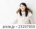 女性 防寒具 冬の写真 23207850