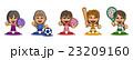 スポーツ 女子 23209160