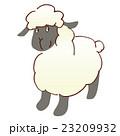 動物のイラスト(ひつじ) 23209932