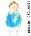幼児 男の子 白バックのイラスト 23210054