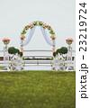 ウェディング アーチ 挙式の写真 23219724