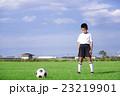 サッカーをする男の子 少年サッカー 男の子 小学生 サッカー 23219901