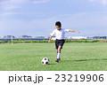 サッカーをする男の子 少年サッカー 男の子 小学生 サッカー 23219906