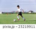 サッカーをする男の子 少年サッカー 男の子 小学生 サッカー 23219911