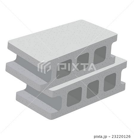 コンクリートブロック イラストのイラスト素材 [23220126] - PIXTA