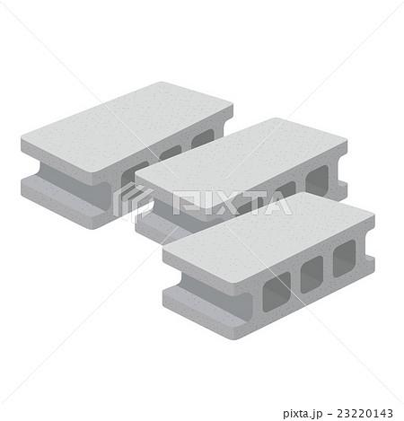 コンクリートブロック イラストのイラスト素材 [23220143] - PIXTA