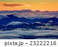 白馬岳付近から見る朝焼けの雲海 23222216