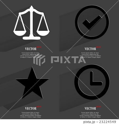Set of icons. Collection symbols. Modern Flat webのイラスト素材 [23224549] - PIXTA