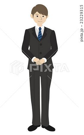 スーツ男性のイラスト素材 23229315 Pixta