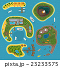 Island top view vector illustration. 23233575