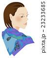 ファッション スカーフの女性 23233685