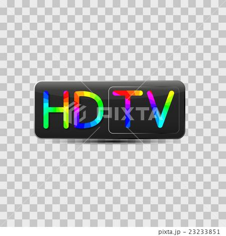High-definition video sign, vector illustration.のイラスト素材 [23233851] - PIXTA