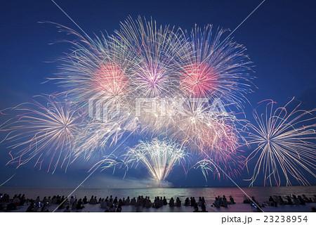 【滋賀県彦根市】彦根の花火 北びわ湖花火大会 23238954