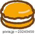 マカロン(オレンジ) 23243450