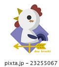 風見鶏 鳥 雄鶏のイラスト 23255067
