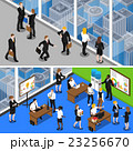Business People 2 Isometric Banners  23256670