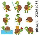 Cartoon turtles vector set. 23261068