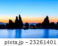 橋杭岩 奇岩 奇岩群の写真 23261401