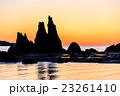 橋杭岩 奇岩 奇岩群の写真 23261410