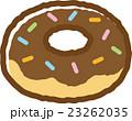 ドーナッツ ドーナツ チョコドーナッツのイラスト 23262035