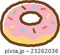 ドーナッツ ドーナツ スイーツのイラスト 23262036