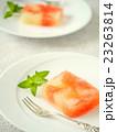 レープフルーツのテリーヌ風ゼリー カット画像 (ペア) 23263814