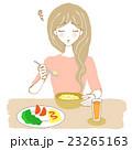 食欲不振の女性 23265163